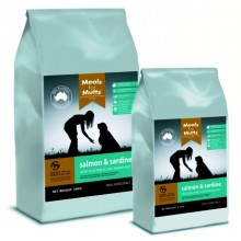 Meals for Mutts Salmon & Sardine 2.5 Kg - note mail option,